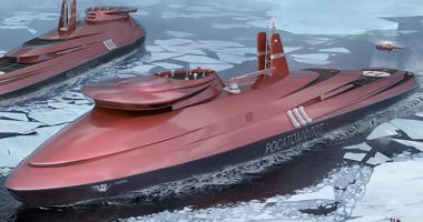 روسيا تسعى لإنشاء كاسحة جليد نووية ستكون الأقوى فى العالم