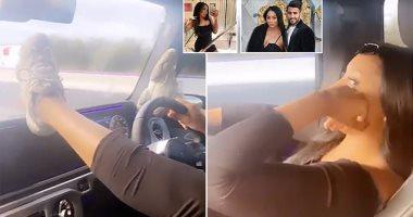 فيديو يضع زوجة رياض محرز فى ورطة أمام الصحافة الإنجليزية
