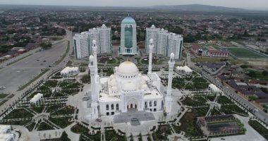 """بث مباشر لفعاليات افتتاح مسجد """"فخر المسلمين"""" فى الشيشان الأكبر فى أوروبا"""