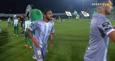 كهربا يسجل أول أهدافه فى خسارة أفيس بالدوري البرتغالى.. فيديو
