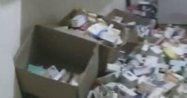 صور.. أمن القاهرة يكشف تفاصيل ضبط 1.2 مليون قرص دواء منتهية الصلاحية