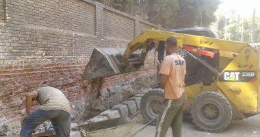 رفع 14.5 طن قمامة ومخلفات ترابية فى حملة نظافة بأحياء مدينة الأقصر