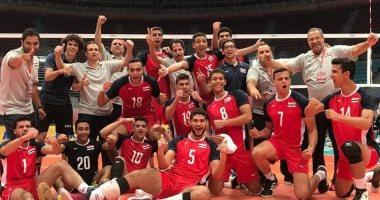 ناشئو الطائرة يهزمون المكسيك فى بطولة العالم بتونس