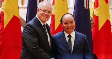 صور .. اول زيارة رسمية لرئيس وزراء استرالى الى فيتنام