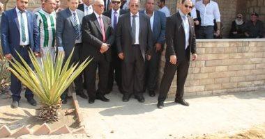بهاء أبو شقة وقيادات الوفد يشيعون جنازة أرملة القطب الوفدى على سلامة