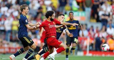 ليفربول ضد أرسنال.. الريدز يتقدم بهدف وظهور قوي لصلاح في الشوط الأول