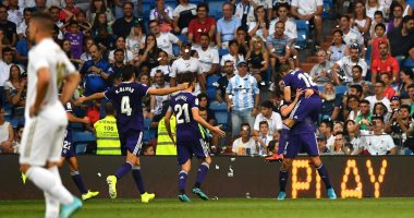 ريال مدريد يسقط فى فخ التعادل أمام بلد الوليد بالدوري الإسباني.. فيديو