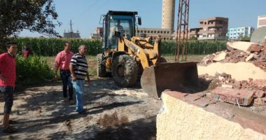 إزالة 2503 حالة تعدى على الأراضى الزراعية ورفع 500 طن قمامة والتحفظ على 11 توك توك بالمحافظات