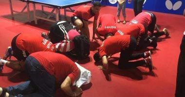 منتخب رجال تنس الطاولة يحصد ذهبية دورة الألعاب الإفريقية