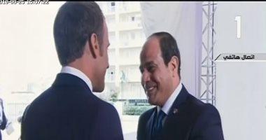 فيديو.. الرئيس السيسي يصل مقر انعقاد جلسة الشراكة مع أفريقيا ضمن فعاليات قمة السبع