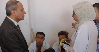 """""""تعليم الفيوم"""": 3000 مستفيد من القافلة الطبية المجانية بإطسا"""