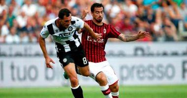 ميلان يفتتح موسمه فى الدوري الإيطالي بالسقوط أمام أودينيزي.. فيديو
