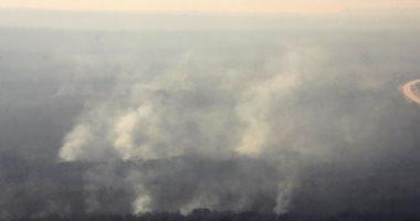 صور.. حرائق الغابات فى بوليفيا تلتهم مساحات واسعة من الأراضى الزراعية