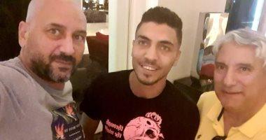 شاهد ..توقيع محمد شريف لإنبي لمدة موسم