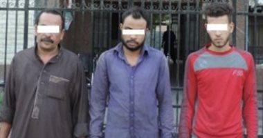 حبس تشكيل عصابى 4 أيام على ذمة التحقيقات لسرقتهم السيارات فى الخانكة