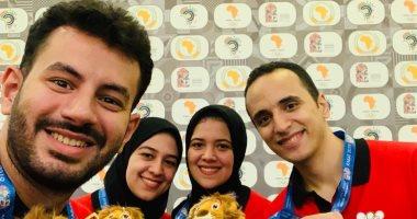 حصاد البعثة المصرية فى دورة الألعاب الأفريقية بالمغرب
