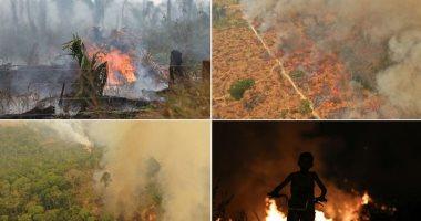 4 آلاف حريق بغابات الأمازون بعد يومين من حظر المحروقات الزراعية