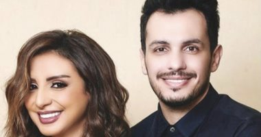 أنغام تعلق علي فوز زوجها بالميدالية الفضية لجلوبال ميوزك كأفضل موزع