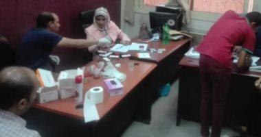 فحص 134 موظفا بديوان محافظة الأقصر للكشف عن تعاطى المخدرات
