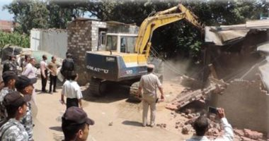 التنمية المحلية: بدء الموجة الـ 14 لإزالة التعديات على أراض الدولة الاثنين