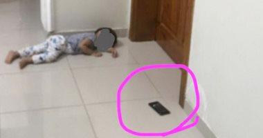 طفل سعودى يحتجز والدته فى المطبخ 4 ساعات