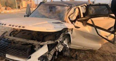 مصرع شخص وإصابة 4 آخرين فى حادث تصادم سيارتين بأسيوط
