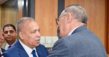 رئيس النيابة الإدارية يهنئ رئيس هيئة قضايا الدولة لتوليه منصبه الجديد