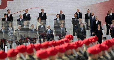 صور.. إحياء ذكرى مرور 80 عاما على بدء الحرب العالمية الثانية فى بولندا