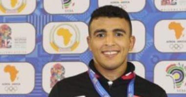 محمد إبراهيم كيشو يهزم بطل إيطاليا ويتأهل لربع نهائي بطولة روما للمصارعة