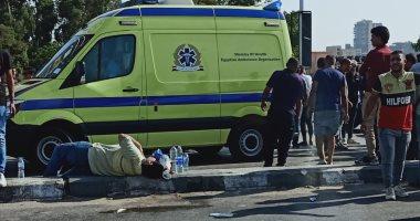 إصابة 4 أشخاص فى حادث انقلاب سيارة بأسيوط