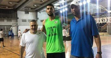 الزمالك يفسخ عقد سامى العراقى لاعب السلة