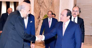 فيديو.. الرئيس السيسى يستقبل وليد جنبلاط.. ويؤكد حرص مصر على سلامة وأمن لبنان