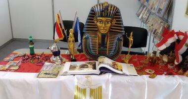 توت عنخ آمون يجذب زوار معرض موسكو الدولى للكتاب