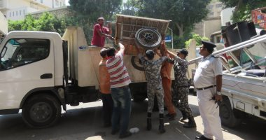 تنفيذ 82 حكما قضائيا وإزالة تعديات خلال حملة بالطالبية ومدينة 6 أكتوبر