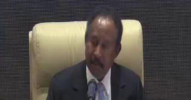 رئيس وزراء السودان: أهم أولويات المرحلة الانتقالية إيقاف الحرب وبناء السلام