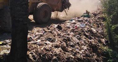 محافظة سوهاج: رفع 1927 طن قمامة ومخلفات صلبة بمراكز سوهاج خلال أسبوع