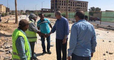 محافظ البحر الأحمر يتفقد الإنشاءات بمتحف الغردقة وطريقى الحجاز ومجاويش