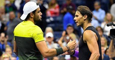 نادال يهزم بريتينى ويواجه ميدفيديف فى نهائى بطولة أمريكا المفتوحة للتنس