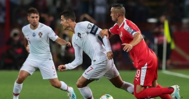 صربيا ضد البرتغال.. برازيل أوروبا تحقق الفوز الأول بتصفيات اليورو.. فيديو