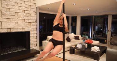 """فيديو وصور.. كيف أتقنت جنيفر لوبيز الـ""""pole dance"""" من أجل فيلمها Hustlers"""