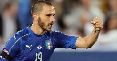 بونوتشى يعادل رقم ديل بييرو مع منتخب إيطاليا