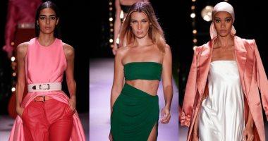 موضة التسعينات تعود بعرض أزياء brandon maxwell بأسبوع الموضة بنيويورك