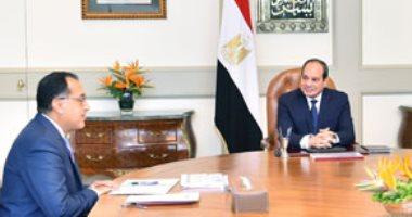 رئيس الوزراء يهنئ الرئيس السيسى بمناسبة العام الميلادى الجديد