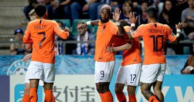 كل أهداف الإثنين.. رباعيات هولندا وبلجيكا في تصفيات يورو 2020