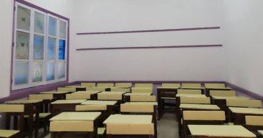 صور.. الانتهاء من صيانة المدارس وتجهيز معرض أهلاً مدارس بالأقصر
