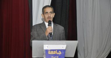 رئيس جامعة قناة السويس يعرض ملف التحول الرقمى فى اجتماع بحضور 5 شركات تكنولوجية