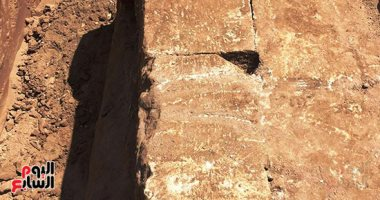 الآثار:  جارى الدراسة على الأحجار المكتشفة بسوهاج لتحديد عصرها