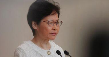 صور.. زعيمة هونج كونج: تصعيد العنف لن يحل المشاكل الاجتماعية