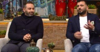 موقف مضحك لـ حازم إمام مع متعب على قناة ON SPORT
