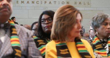 أعضاء الكونجرس يحتفلون بالذكرى الـ400 لوصول أول مجموعة أفاقة لواشنطن